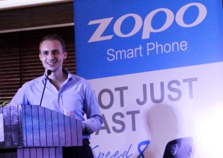 Mr,Charles Bird, Brand Manager, Zopo